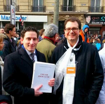 Avec Maitre Jérôme Triomphe, talentueux avocat de l'AGRIF